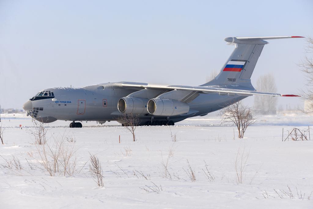 Самолет Ил-76МД-90А перед вторым этапом госиспытаний