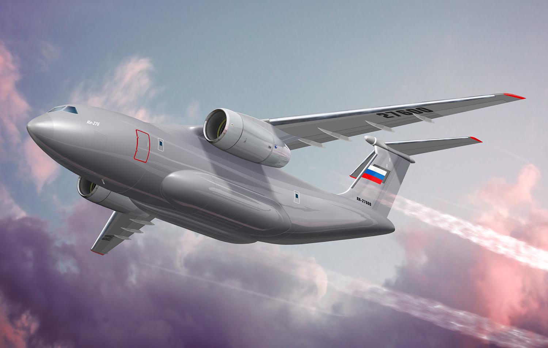 Двухдвигательный средний военно-транспортный самолет